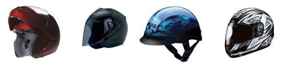 motorcycle helmets range